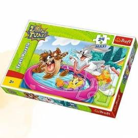 Puzzle 24 maxi Kąpiel w ogrodzie TREFL