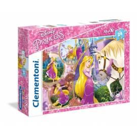 Puzzle 24 el maxi Superkolor Princess - Tangled