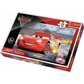 Puzzle 24 maxi Auta 3 - Mistrz TREFL