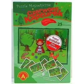 Puzzle magnetyczne - Czerwony Kapturek ALEX