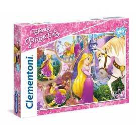 Puzzle 250 el. Superkolor Princess Tangled