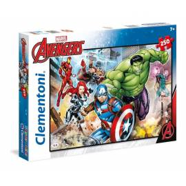 Puzzle 250 el. Superkolor The Avengers