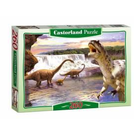 Puzzle 260 Dinozaury w wodzie CASTOR