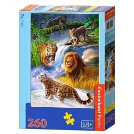 Puzzle 260 Duże koty CASTOR