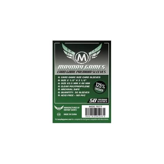 MAYDAY Koszulki Standard CCG Premium (63,5x88mm) 50