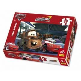 Puzzle 30 Auta Na stacji benzynowej TREFL