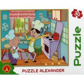 Puzzle 30 Bolek i Lolek. Mysz w kuchni ALEX
