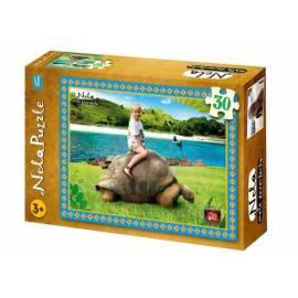 Puzzle 30 - Nela - żółw BURDA