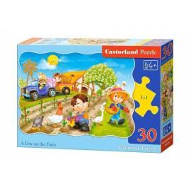 Puzzle 30 Dzień na farmie CASTOR