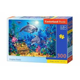 Puzzle 300 Dolphin Family CASTOR