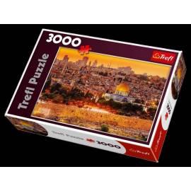 Puzzle 3000 Dachy Jerozolimy TREFL