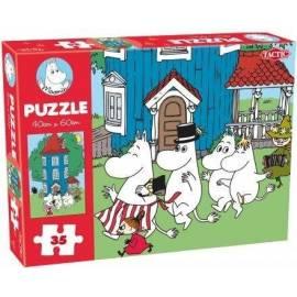 Muminkowe duże puzzle 35 elementów