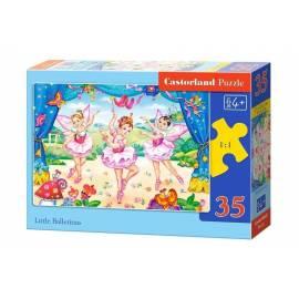 Puzzle 35 Małe baletnice CASTOR