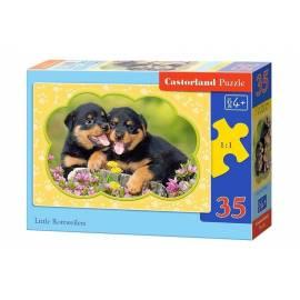 Puzzle 35 Little Rottweilers CASTOR