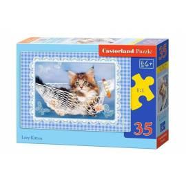 Puzzle 35 Lazy Kitten CASTOR
