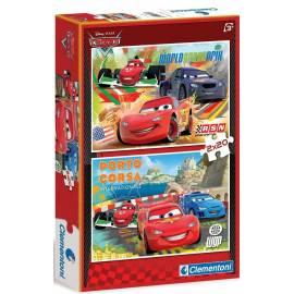 Puzzle 2x20 Auta