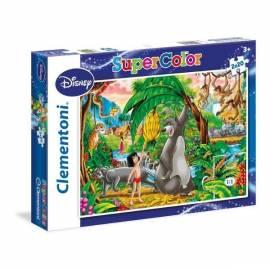 Puzzle 2x20 Księga Dżungli