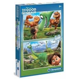 Puzzle 2x20 Dobry Dinozaur