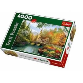 Puzzle 4000 Jesienna nostalgia TREFL