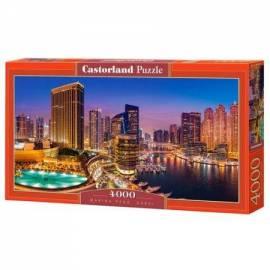 Puzzle 4000 Marina Pano Dubaj CASTOR