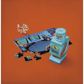 Puzzle kreatury - Robot