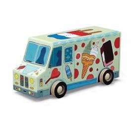 Puzzle 48 el. - Ciężarówka z lodami