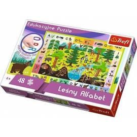 Puzzle Edukacyjne Leśny Alfabet TREFL