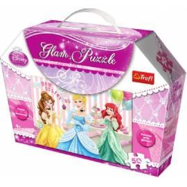 Glam Puzzle - Księżniczki TREFL