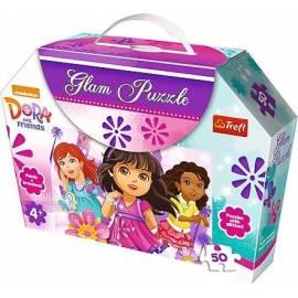Glam Puzzle - Lśniące sukienki TREFL