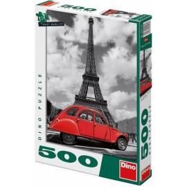 Puzzle 500 Citroen przy Wieży Eiffel DINO