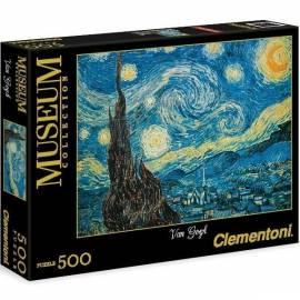 Puzzle 500 el Museum Van Gogh: Notte Stellata