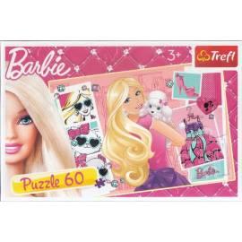 Puzzle 60 Barbie. Ikona mody TREFL