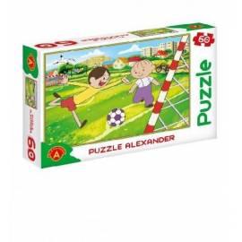 Puzzle 60 - Bolek i Lolek. Piłka nożna ALEX