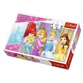 Puzzle 30 Bajkowe księżniczki TREFL