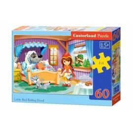 Puzzle 60 Czerwony Kapturek CASTOR