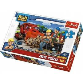 Puzzle 60 Bob i Wendy/Bob Budowniczy TREFL