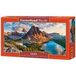 Puzzle 600 Assiniboine Sunset, Banff National Park