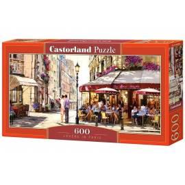 Puzzle 600 Kochankowie w Paryżu CASTOR