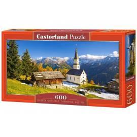 Puzzle 600 Kościół Marterle, Carinthia, Austria