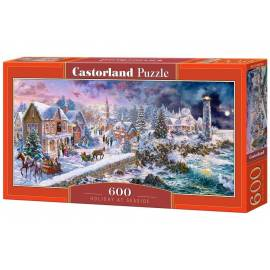 Puzzle 600 Holiday at Seaside CASTOR