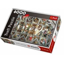 Puzzle 6000 Sklepienie Kaplicy Sykstyńskiej TREFL