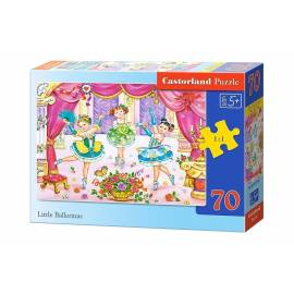 Puzzle 70 - Małe Baleriny CASTOR