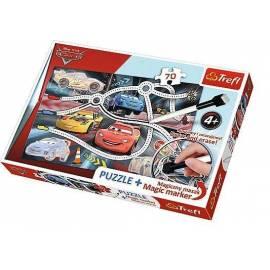 Puzzle 70 plus - Cars 2 TREFL