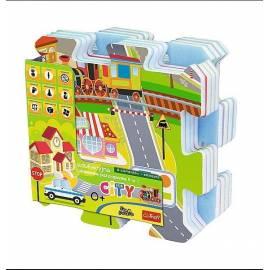 Edukacyjna Układanka-puzzlopianka 5w1 - City TREFL