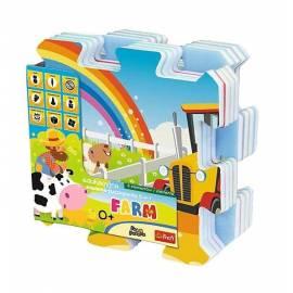 Edukacyjna Układanka-puzzlopianka 5w1-Farma TREFL