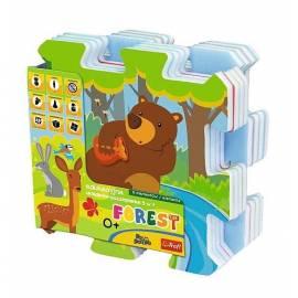 Edukacyjna Układanka-puzzlopianka 5w1- Las TREFL