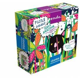 Endo. Puzzle 28 Dzika Amazonia GRANNA