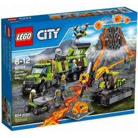 Lego CITY 60124 Wulkan - Baza badaczy wulkanów