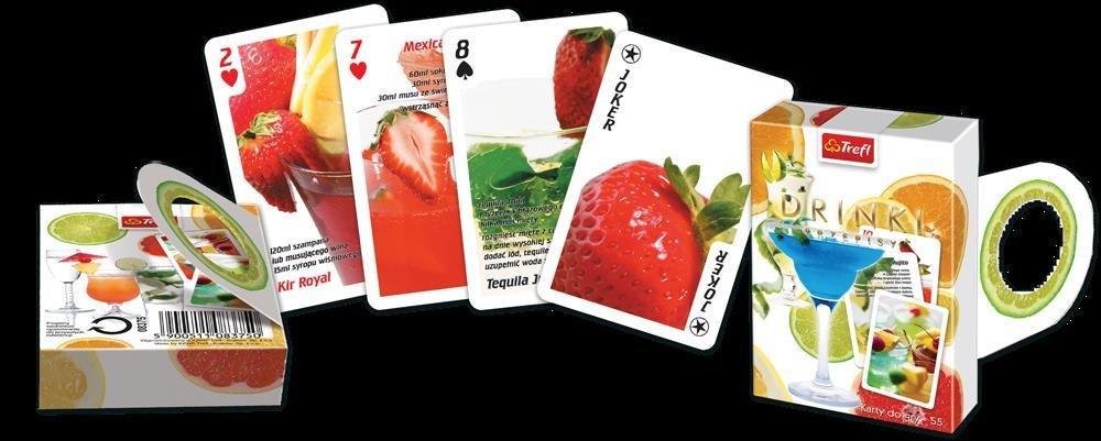 Karty - Oczko - drinki TREFL