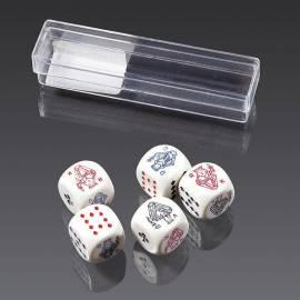 Kości pokerowe (16 mm) PIATNIK